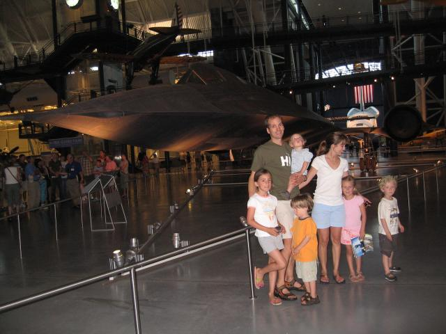 SR-71 with Shuttle in Background